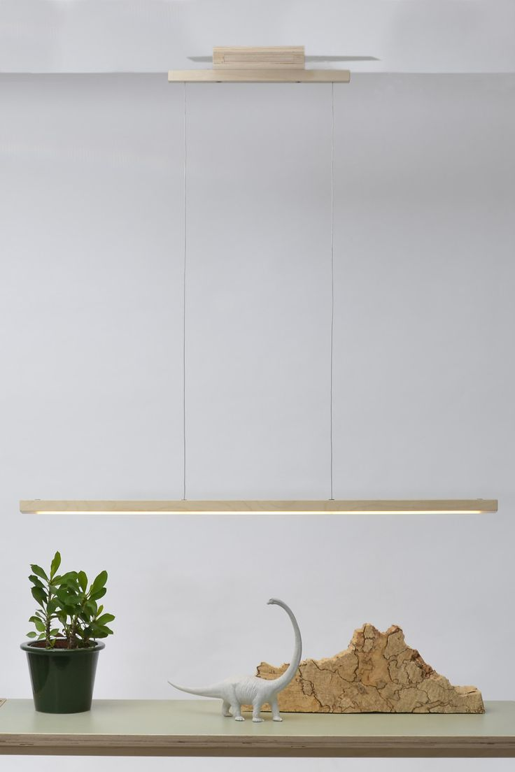 The '24mm Line' LED pendant light is one of the products made with the '24mm' system designed by Arend Groosman. '24mm' concept: one system to build everything. A minimalist pendant light with a natural look that can lights desks, conference tables and dining tables. The '24mm Line' is made of birch plywood with built-in warm [...]