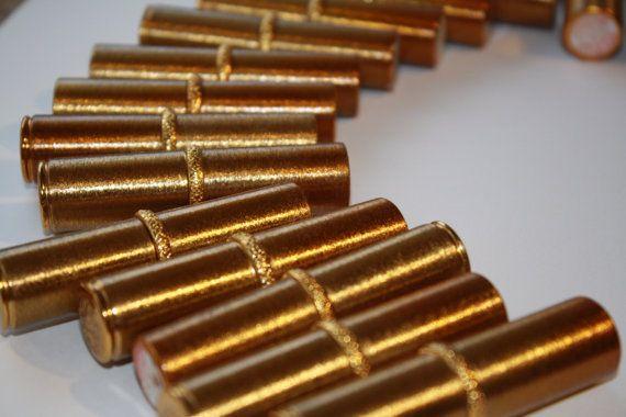 Vintage Royal Secret ART DECO gold tube by LIFESEMBELISHMENTS