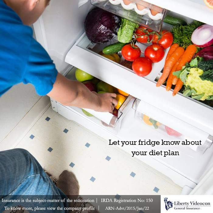 Update the contents of your fridge according to your diet plan. Replace everything that hampers the diet #NoExcuses