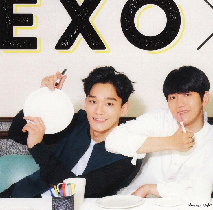 Chen and Baekhyun ♥