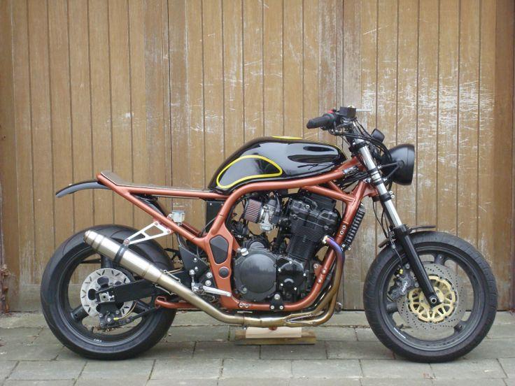 ROOK custom cycles Bandit Bobtrack. Suzuki Bandit, Suzuki Gsf 1200