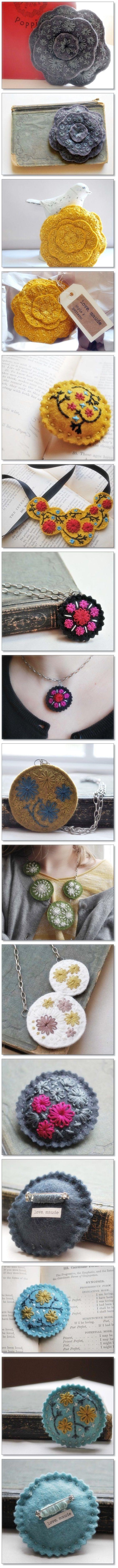 fieltro de lana accesorio