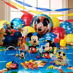 mickey mouse first birthday | Home » Disney Mickey Mouse Clubhouse 1st Birthday Party Supplies