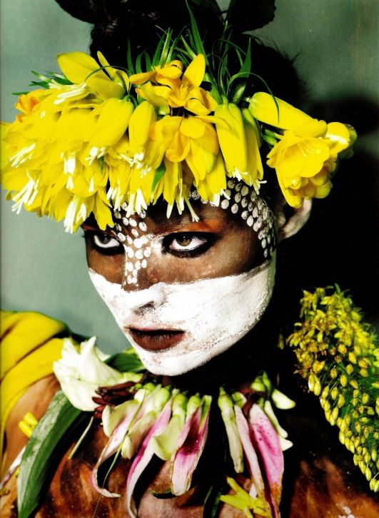 Omo Tribal Body Paint - Ethiopia