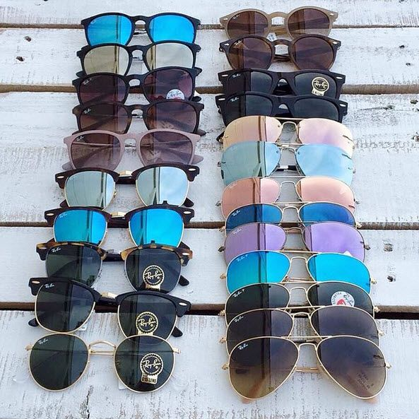 Ray-Bans are here! Which one is your favorite?