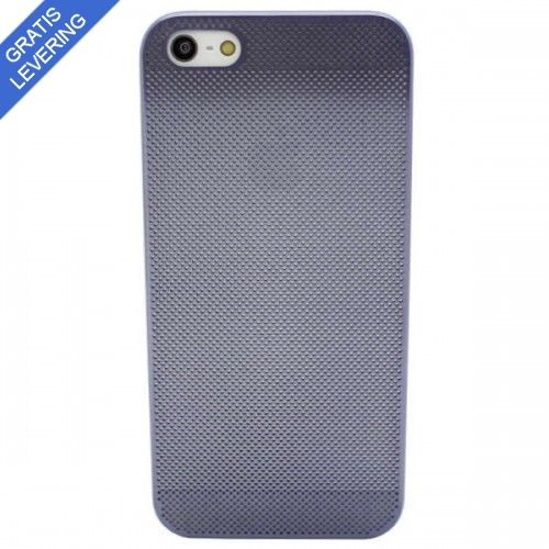 Perforeret iPhone 5/5S Aluminium Cover - Lilla