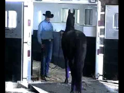 Dennis Reis Universal Horsemanship TV NO 404 10/7/2013 Trailer Loading p...