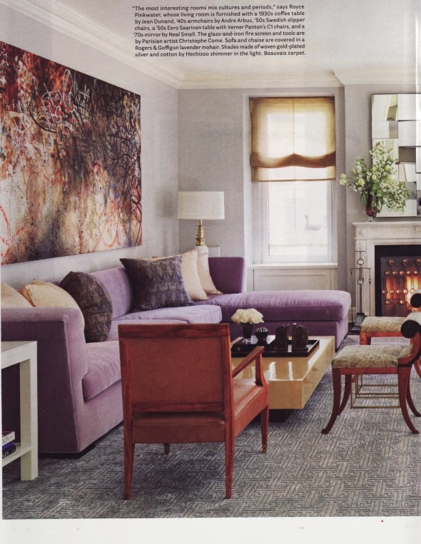 mauve living room by royce pinkwater home pinterest