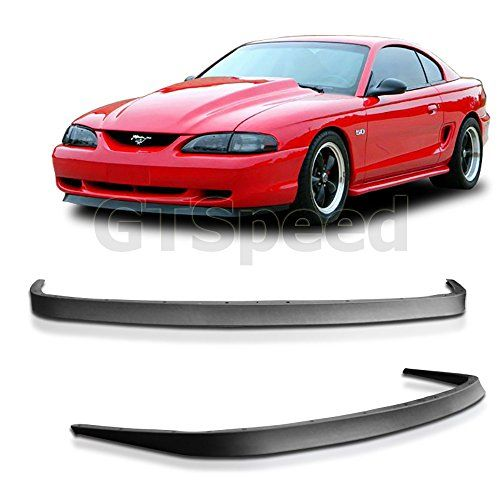 1994-1998 Ford Mustang GT V6 V8 USDM Mach 1 OE Style Front Bumper Lip - PU - http://www.caraccessoriesonlinemarket.com/1994-1998-ford-mustang-gt-v6-v8-usdm-mach-1-oe-style-front-bumper-lip-pu/  #19941998, #Bumper, #Ford, #Front, #Mach, #Mustang, #Style, #USDM #Enthusiast-Merchandise, #Mustang
