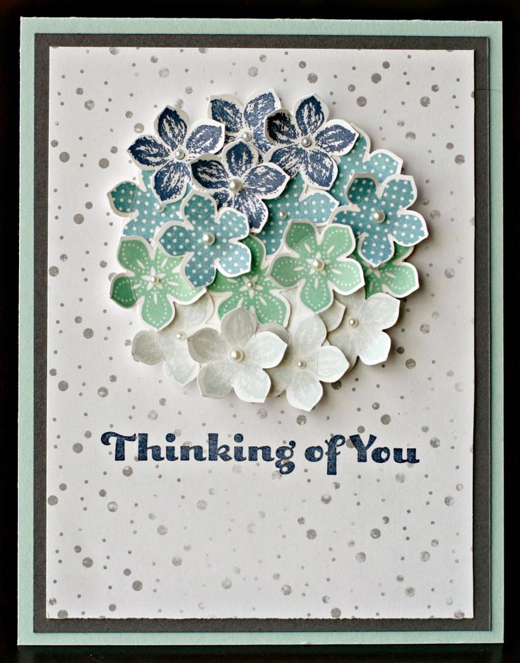 Klompen Stampers (Stampin' Up! Demonstrator Jackie Bolhuis): Petite Petals Bundle: Day 2  I could make a nice spring or summer wreath