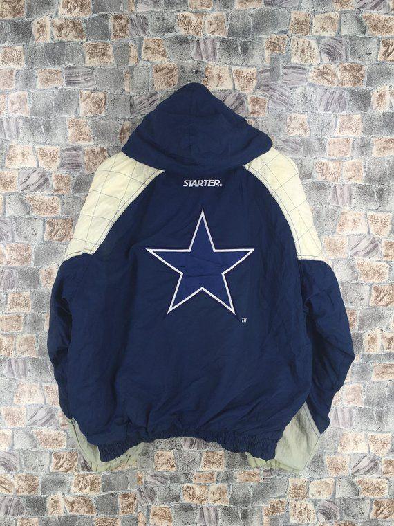 the best attitude 3838c 3a7aa Dallas COWBOYS NFL Starter Jacket Medium Vintage 1980's Nfl ...