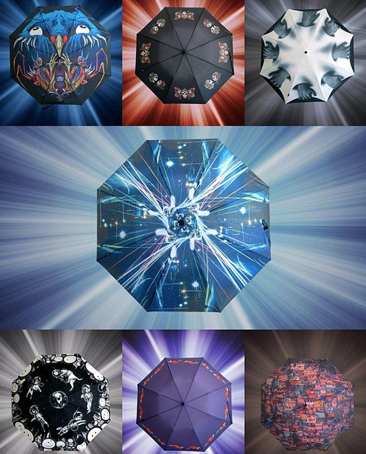 7 Umbrellas Designed By Popular Artists | Bored Panda