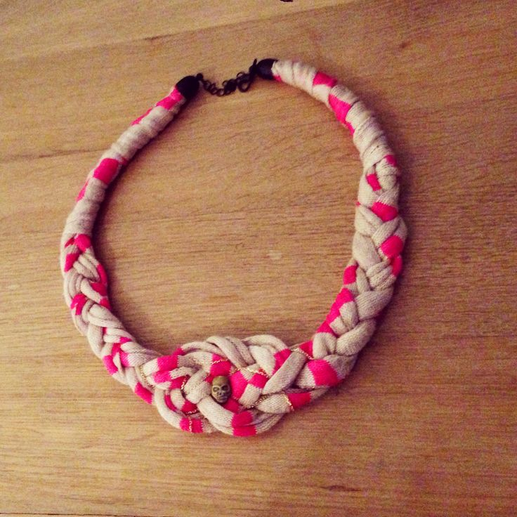 Best Complementos Images On Pinterest Knot Necklace Sailor - Diy braided necklace