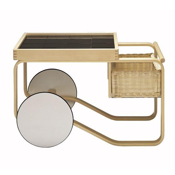 Alvar Aalto: Aalto 900 Tea Trolley