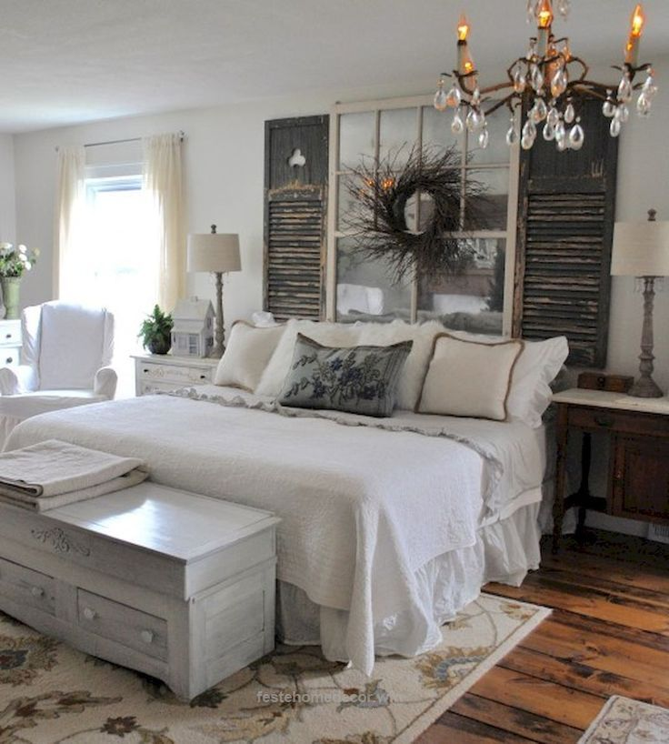 Great Rustic farmhouse style master bedroom ideas (15) The post Rustic farmhouse style master bedroom ideas (15)… appeared first on Feste Home Decor . #rusticfurniturefarmhouse #bedroomdesign