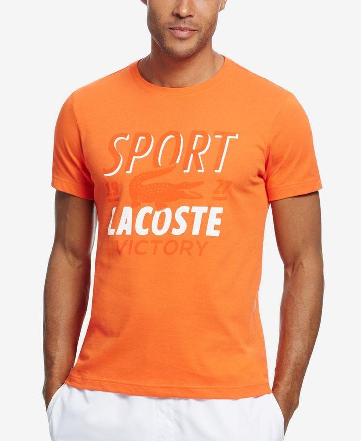 Lacoste Men's Tech Sport Croc-Graphic T-Shirt