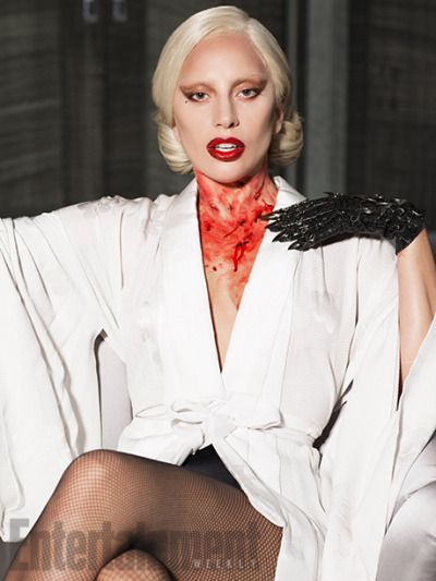Lady GaGa - Entertainment Weekly  Aug. 2015 - The Counters in AHS Hotel