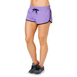 The perfect running short! These relaxed fit shorts feature flatlock seams to reduce chafing, built-in bike shorts for support and comfort, curved hem...