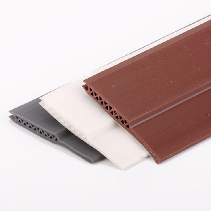 Best Price Acoustic Door Bottom Sealing Silicone D Draft Stopper Door Sweep Cool Things To Buy