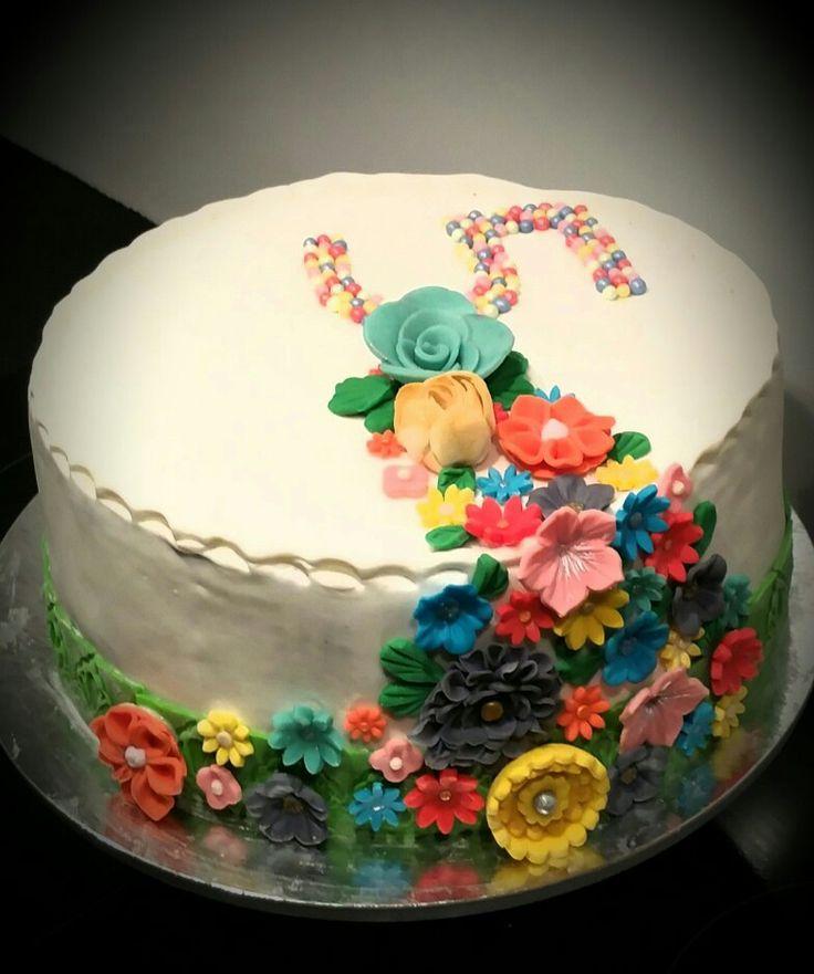 Olivia birthday cake