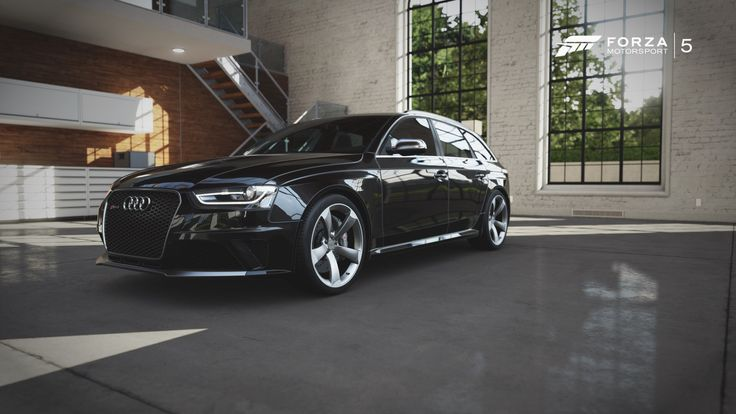 Audi RS4 Avant form Forza 5 by Homway John