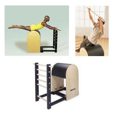 Pilates Equipment in Pictures: The Pilates Ladder Barrel