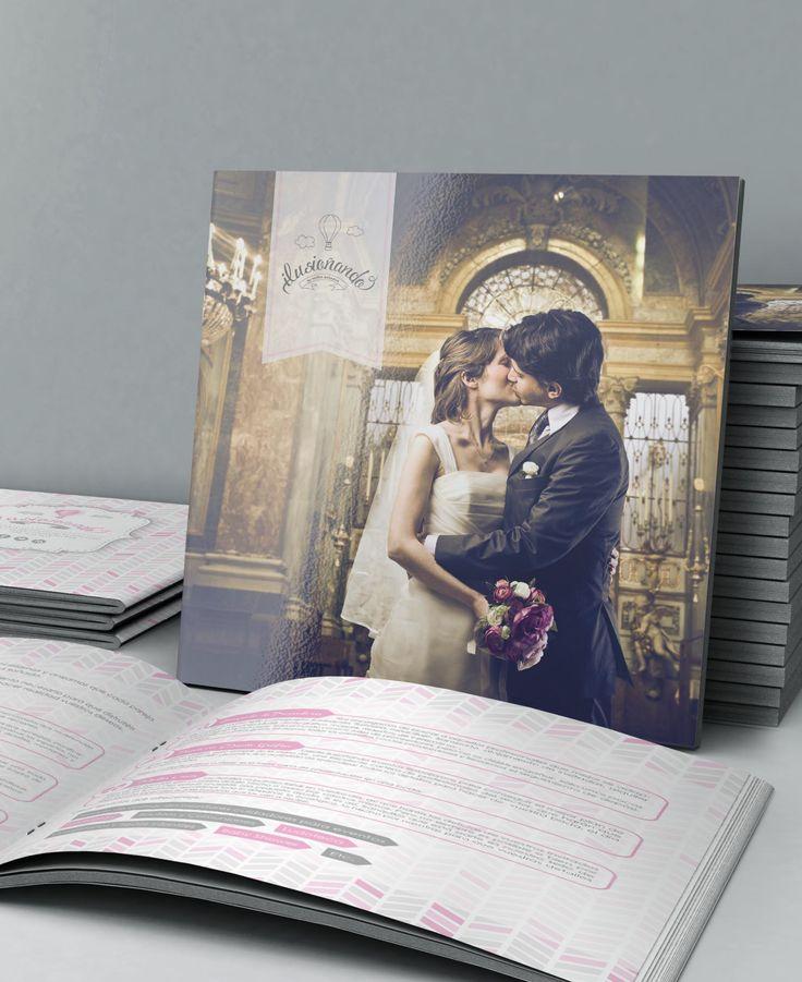 Diseño de Dossier para Cliente de Ilusiñando Eventos (Wedding Planner)