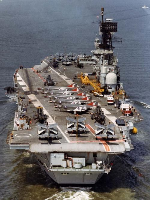 HMS ARK ROYAL 1955-1979. My Father served in her.