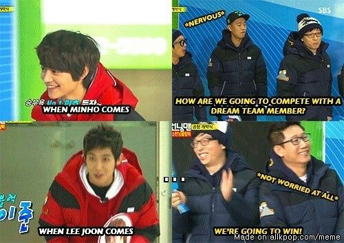 """We're going to win!"" Running Man Idol Olympics"