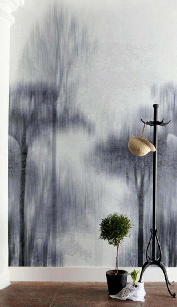 die besten 25 kreative wandgestaltung ideen auf pinterest. Black Bedroom Furniture Sets. Home Design Ideas