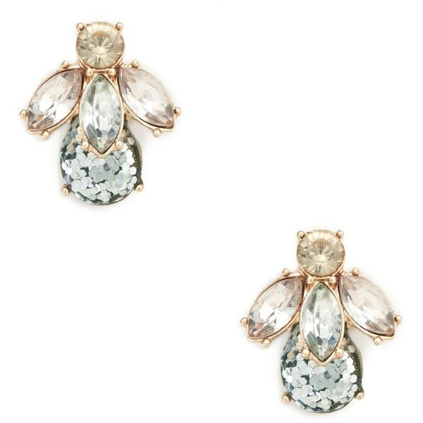 Sole Society Womens Bee Statement Studs Crystal One Size From Sole Society UKq49