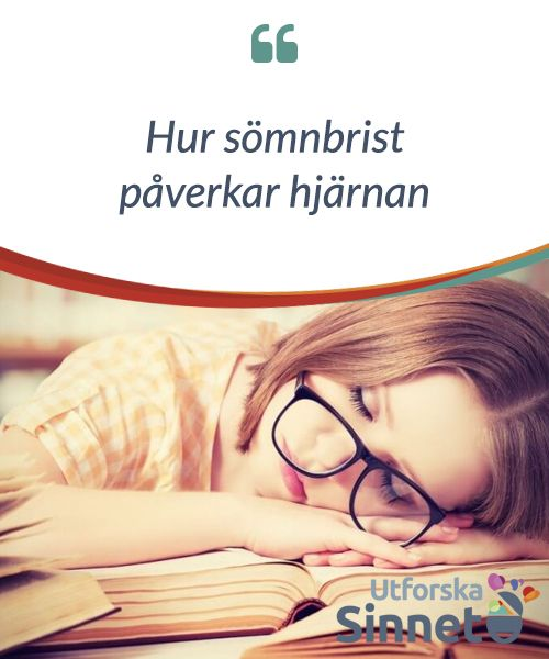 Hur sömnbrist påverkar hjärnan.  #Sömnbrist kan vara #fasansfullt, men vad är det #egentligen som #händer med sinnet och #hjärnan när man inte får #tillräckligt med sömn?