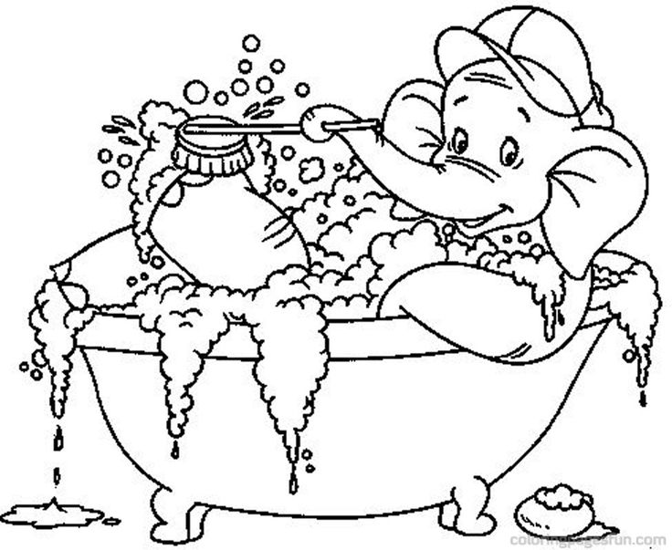 Bath Coloring Pages 50 Free Printable Coloring Pages