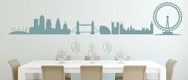 Londýn (1371) / Samolepky na zeď, stěnu a nábytek