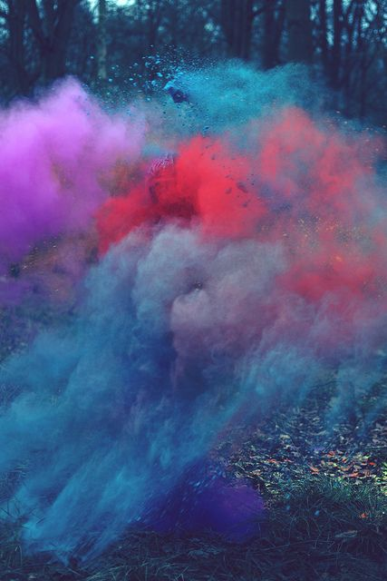 color explosion! this looks like so much fun
