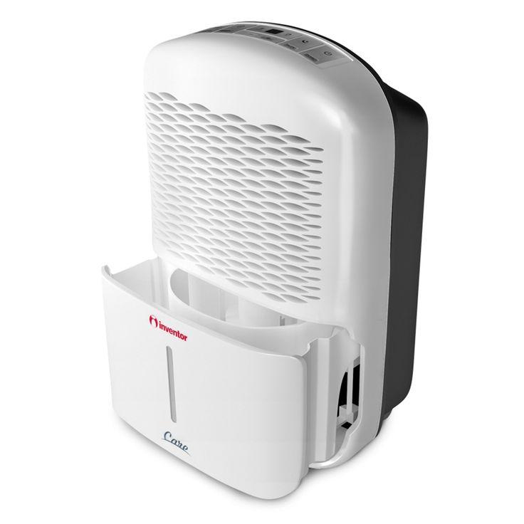 Der Inventor Care 12L Luftentfeuchter ist der geräuschärmste Luftentfeuchter mit starker Leistung für maximale Ergebnisse. Durch den kontinuierlichen Entfeuchtungsmodus können Sie Ihre Kleidung trocknen und Räume entfeuchten mit erhöhter Luftfeuchtigkeit. Mit dem 24-Stunden-Timer können Sie die Betriebsdauer Ihres Luftentfeuchters genau planen und vermeiden somit den unnötigen Gebrauch des Gerätes, wenn Sie nicht Zuhause sind, um eine wirtschaftliche Nutzung zu gewährleisten.