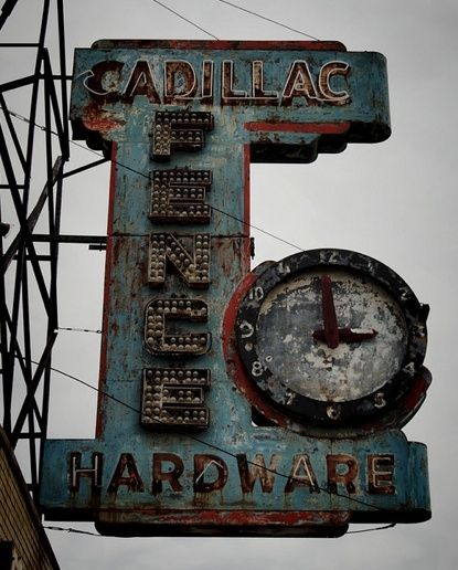 vintage sign by jum jum