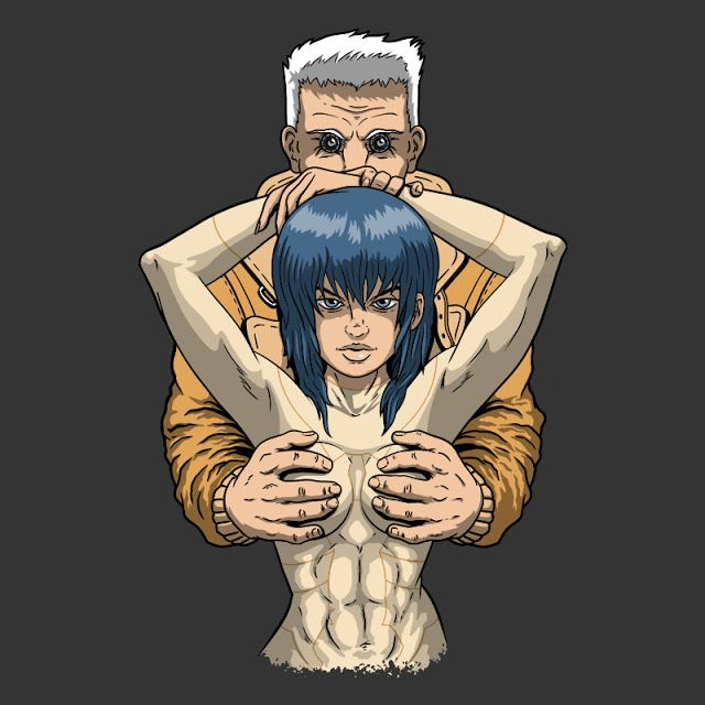 """JCMaziu absent art.: The joy of the ghost: a """"Ghost in the shell"""" inspi..."""