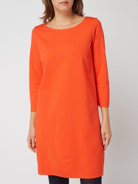 Marc O Polo Kleid Mit Dreiviertel Armeln Rot 1 Warm Autumn