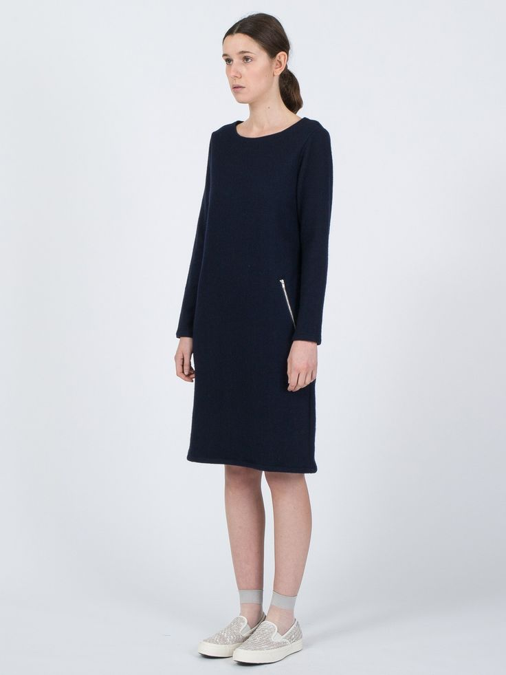 Wool Knit Dress - http://bit.ly/1VY1dXu