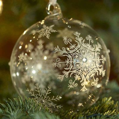 Beautiful Christmas Ornaments 97 best etched glass ornaments images on pinterest | glass