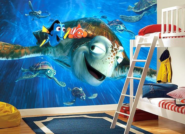Style Your Walls: Nemo Wall Mural. Finding ... Part 70