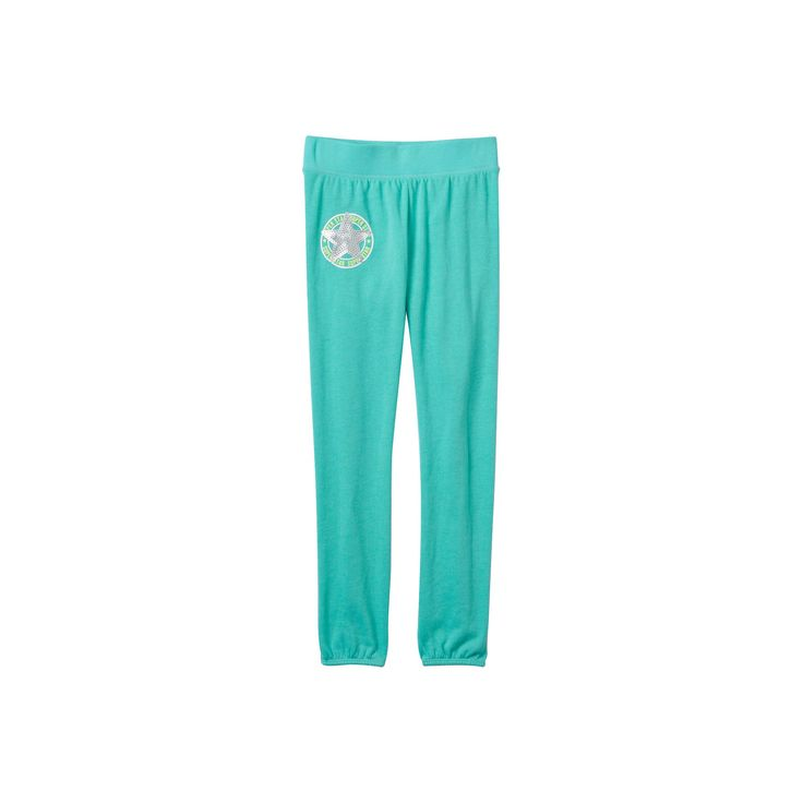 Girls 7-16 SO® French Terry Graphic Jogger Pants, Girl's, Size: 7-8, Med Green