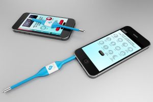 Kinsa: smartphone thermometer and real time health map