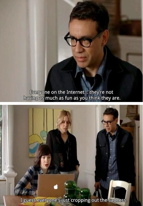 """""""All right, I'm gonna go scream into my pillow for a little while."""" #Portlandia"""