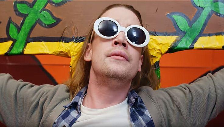 Child star Macauley Culkin is back, and he's playing Kurt Cobain