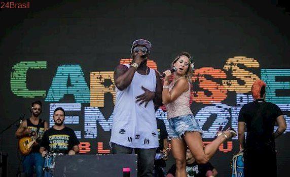 Bloco toca clássicos do Rio: No 2º dia de CarnaUOL, Carrossel de Emoções combina funk e samba