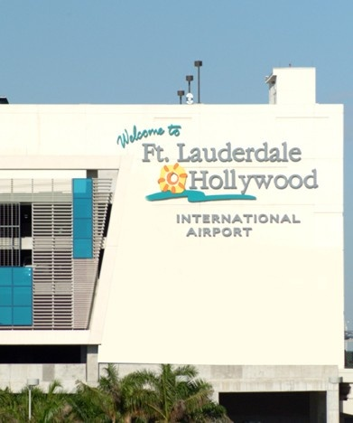 Ft. Lauderdale - Hollywood International Airport.