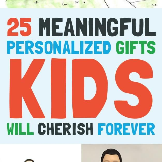 25 Meaningful Personalized Gifts Kids Will Cherish Forever Baby