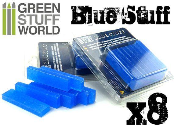 Blau Stuff  8  Sofort Abformmasse von GreenStuffWorld auf Etsy